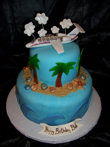 Cake For A Pilot I Made This Cake Last Year For A