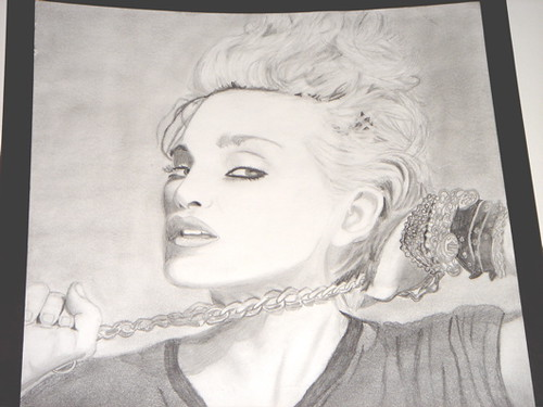 Madonna Drawing | by coveredinrain88