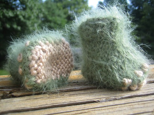 knit monster booties-2 | by shananicole