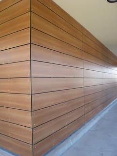 Retail Installation Of Trespa Meteon Cladding The