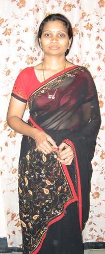 Saree aunty picture
