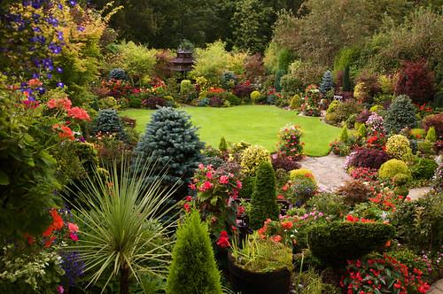Garden View From The Kitchen Window Sept 2 English Garde Flickr