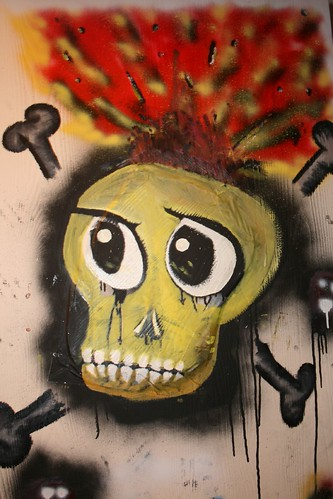 Graffiti series - Suicidal Youth, Kurt Cobain homage | by April A. Taylor (Dark Art/Horror Photography)