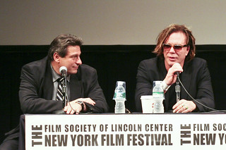 NYFF08: Richard Pena, Mickey Rourke | by muckster