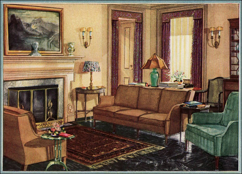 1929 armstrong linoleum ad this 1929 linoleum ad was for Armstrong design a room
