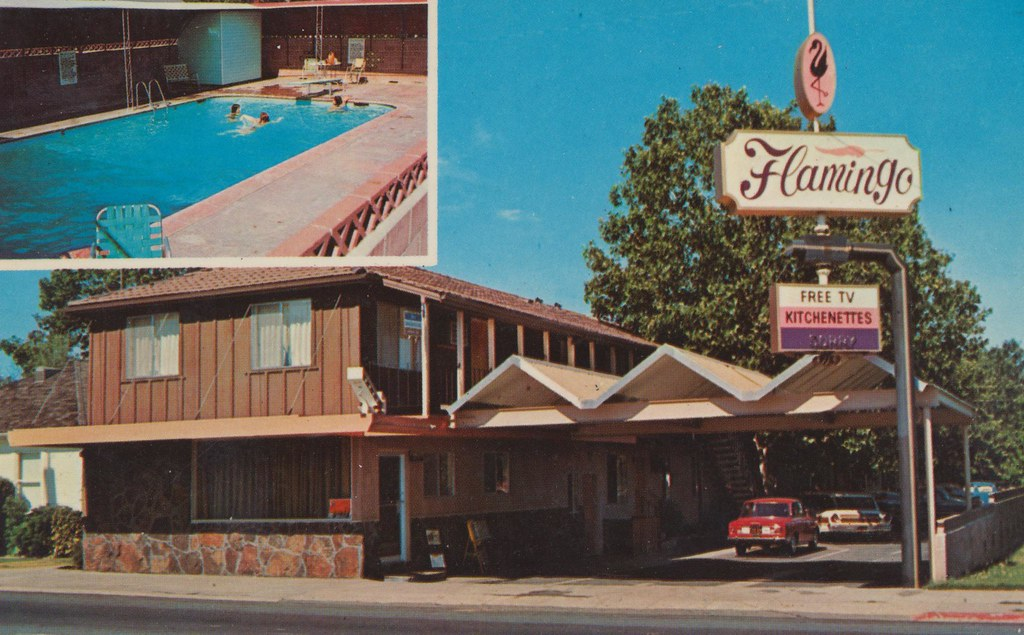 Flamingo Motel - Roseville, California