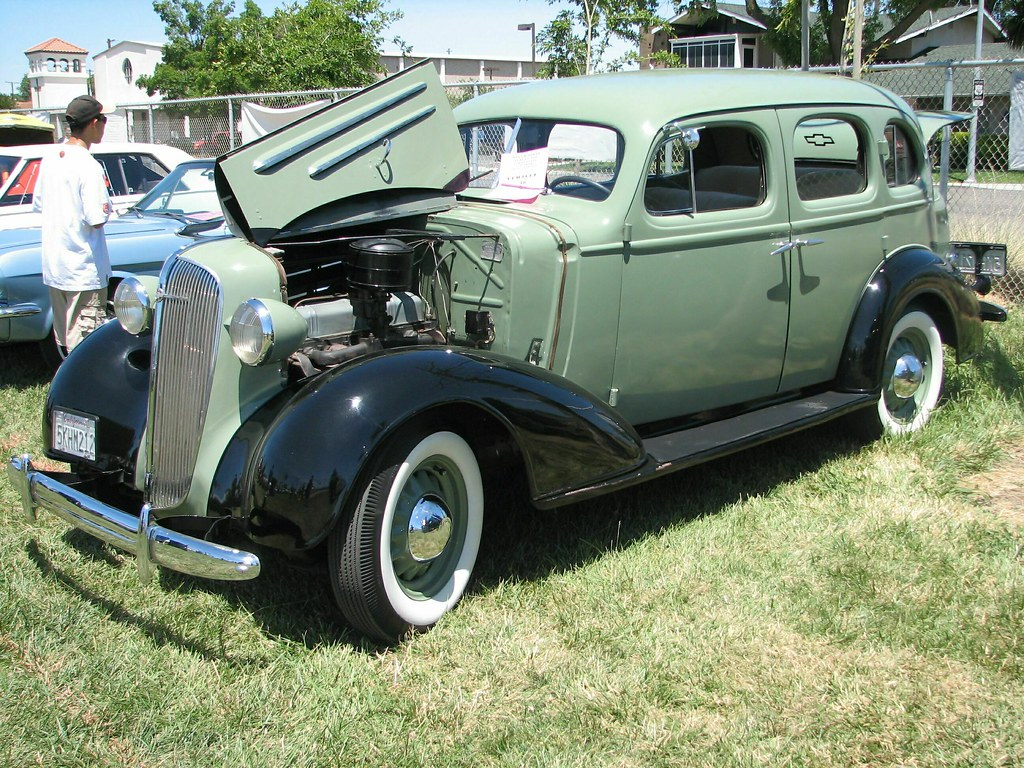 Chevrolet 1936 automobiles flickr for 1936 chevy sedan 4 door