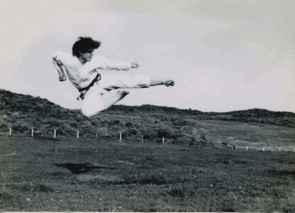 Image result for flying side kick