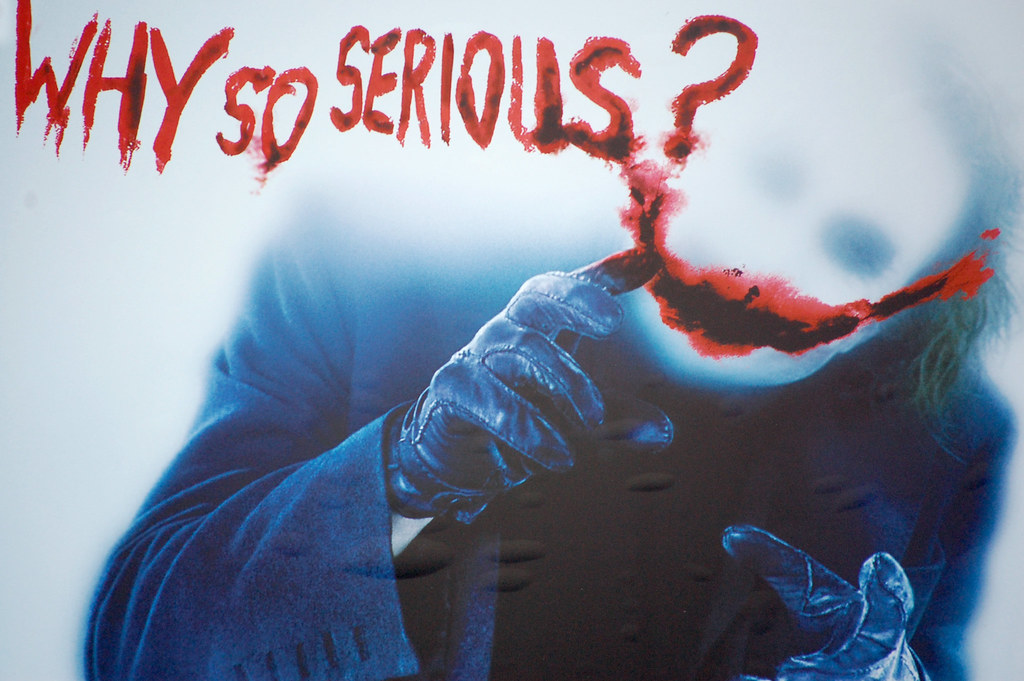 Image result for why so serious