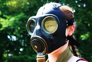 Gas mask, 14 June 2011 | by ed_needs_a_bicycle