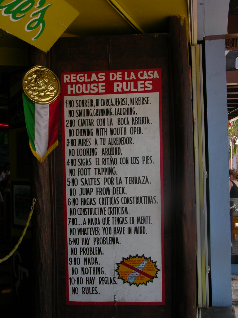 Funny House Rules | Sherrie Meade | Flickr