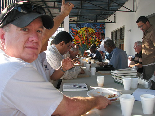 mike panama 2008-04-12 001 | Mike at the Men's Breakfast ...