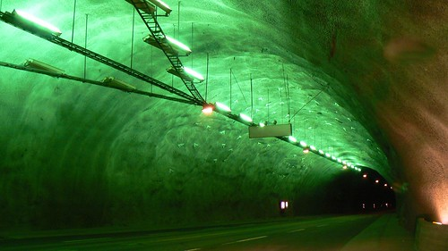 Inside the 26km tunnel (green) | by þeodriċ æðelfriþ