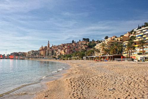 Menton la plage des sablettes d couvrez menton sur le site flickr - Office de tourisme de menton ...