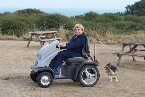 Tramper Mobility Vehicle | by Durlston Country Park