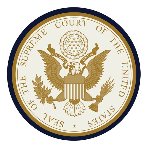 Supreme Court of the United States Seal | by DonkeyHotey