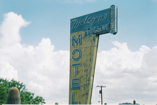 The Welcome Motel (east side) | by catfan552000