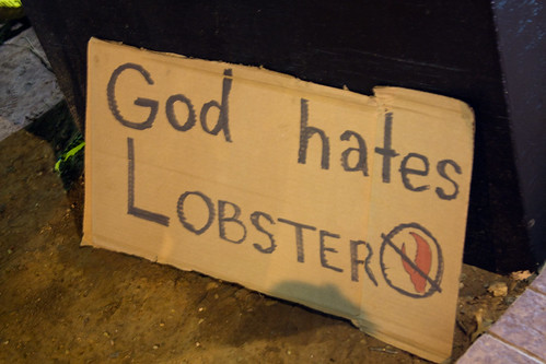 God hates LOBSTER | by dustout