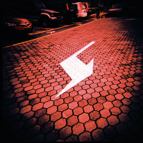 Holga 120GN - 47 Turn Here | by Daniel Y. Go
