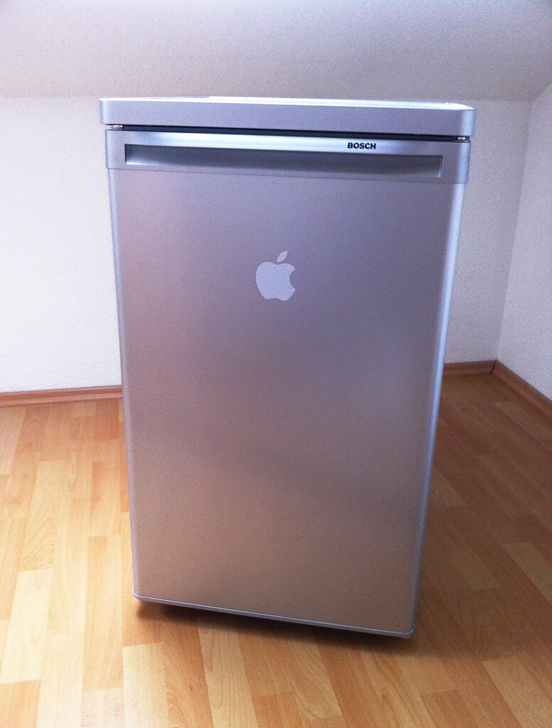 Bosch-Apple-Fridge | Bosch refrigerator | Robert Friese | Flickr