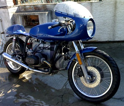 Bmw Cafe Racer R100 Flat Racer The Shed V3x S W Ver 85 97
