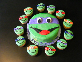 Teenage mutant ninja turtles cake | by Giggy's Cakes and Sweets