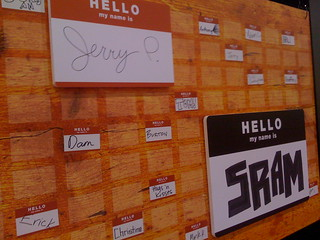 Interbike 08 Day One: Hello SRAM | by Hugger Industries
