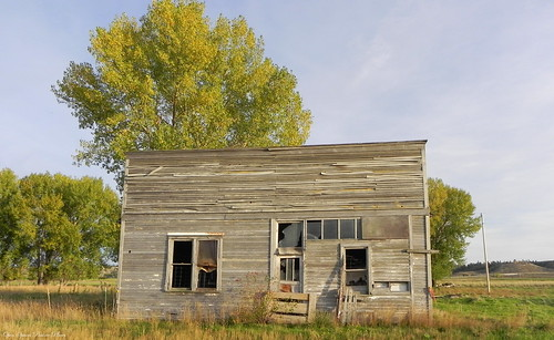 Old Storefront, Bighorn Montana | by OpenSpaces PrairiePlaces