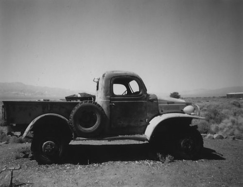 Truck Formerly Owned by Charles Manson. Ballarat, CA. | by Looking Glass Magazine