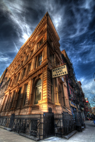 Bouwerie Lane Theatre on Bond Street, NYC | by Phillip Ritz