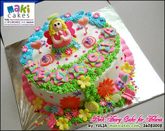 Pink Fairy Cake for Felicia_ - Maki Cakes | by *Yulia*
