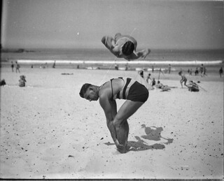 Beach studies, 1930s / by Sam Hood | by State Library of New South Wales collection