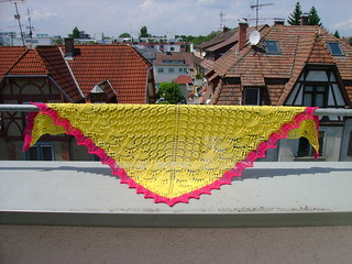 swallowtail shawl | by katie:m
