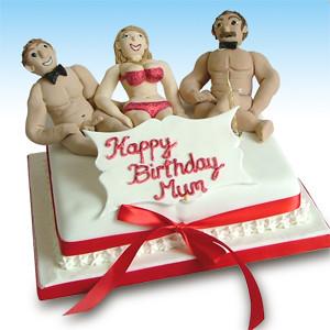 Male Stripper Birthday Cake