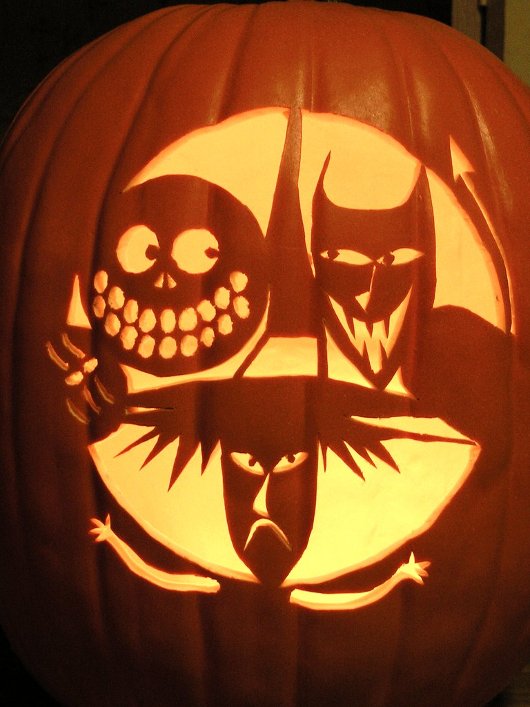 Nightmare Before Christmas Pumpkin Carving Stencils Free picture gallery