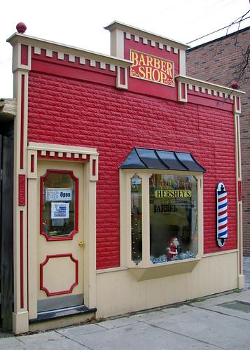 medina oh barber shop looks like a nice place for a trim flickr. Black Bedroom Furniture Sets. Home Design Ideas
