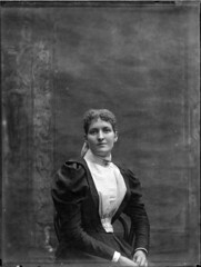 Studio portrait of a young woman | by Powerhouse Museum Collection