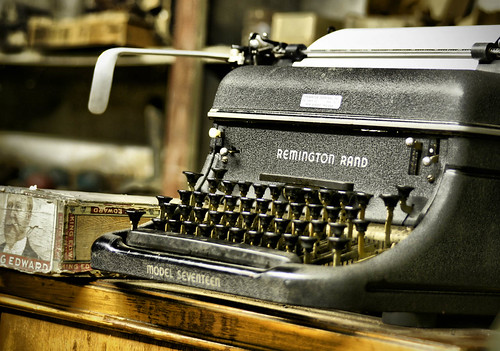Remington Typewriter | by Creativity+ Timothy K Hamilton