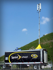 Sprint Mobile Cell Tower | by Bristol Motor Speedway & Dragway