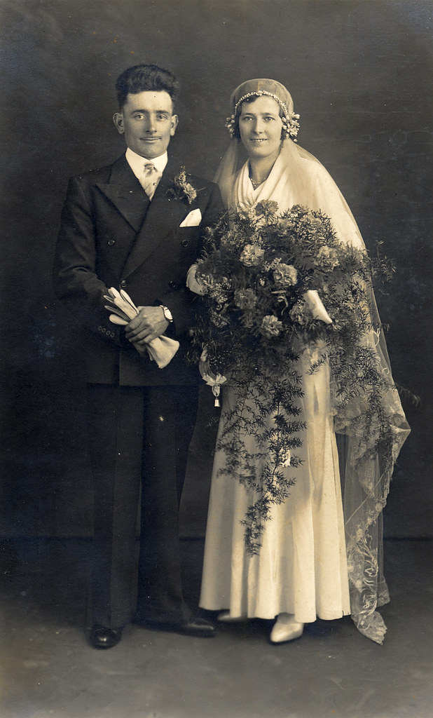 1920s wedding found image i hope he kept his hair 1920s wedding by lovedaylemon 1920s wedding by lovedaylemon junglespirit Images