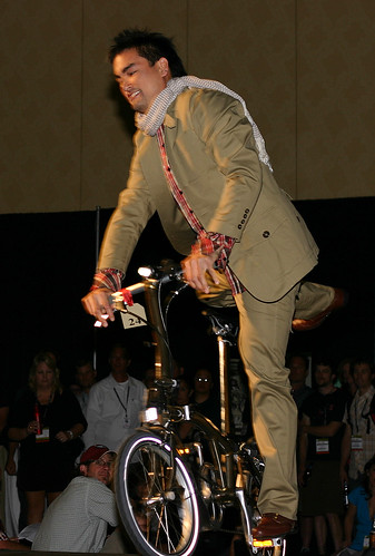 Boy on Bike: Urban Legends Fashion Show Interbike 2008 Las Vegas | by Richard Masoner / Cyclelicious
