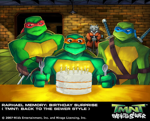 TMNT Back to the Sewer Mike Memory Birthday Suprise Flickr