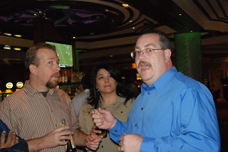 David & Irma Wallace with Bill Hartzer at Pubcon 2008 Las Vegas | by storyspinn