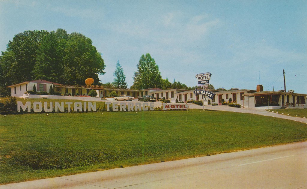 Mountain Terrace Motel -  Asheville, North Carolina