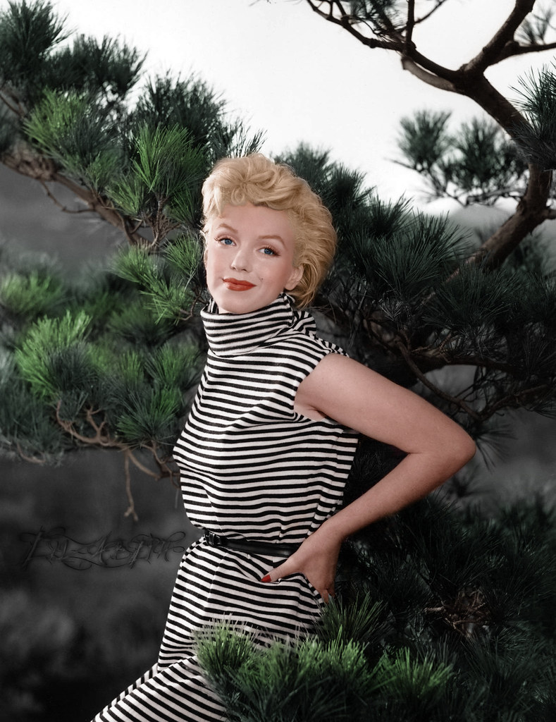 Marilyn Monroe My Colorization Darlingliz Flickr