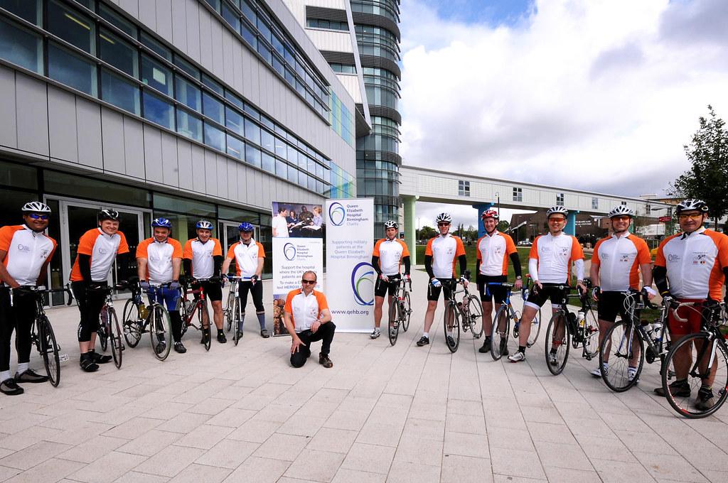 ... QEHB Charity bike ride from Birmingham to Belgium  d9a2abde0
