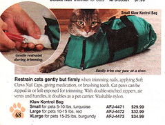 kitty full body straitjacket | how would you even get your c… | Flickr