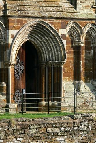 Canons ashby 27092008 08 the ashlar trefoil arches of for Ashby windows