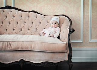 New Baby... Antique Sofa | by Shana Rae {Florabella Collection}