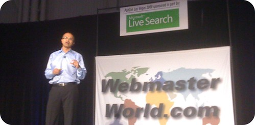 Satya Nadella, Senior Vice President, Search, MSN Portal & Advertising Platform Group, Microsoft | by rustybrick